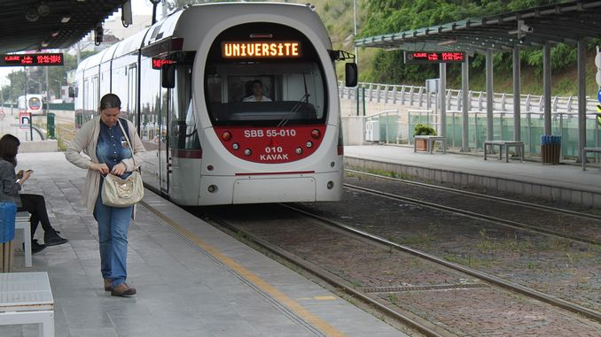 Free internet service on the samsun rail system is on the shelf