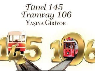 historisk karakoy tunnel for at fejre nanotalgisk tram alder i beyoglu