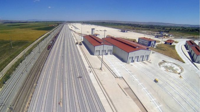 Turkiyede the planned logistics center began operating activities to u