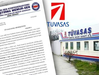 Warning for 24 Months Unpaid Catenary Compensation at TÜVASAŞ