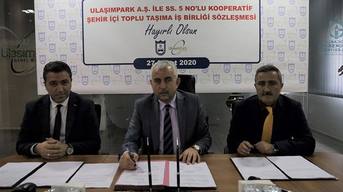 Joint pool agreement with ulasimpark numbered cooperative