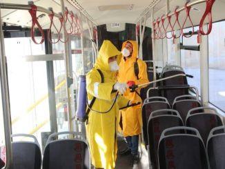 Estudo de higiene em veículos de transporte público de Elazig