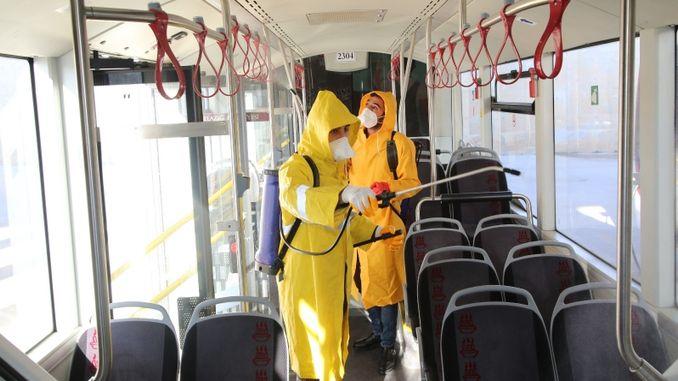 Hygiene Study in Elazig Public Transport Vehicles