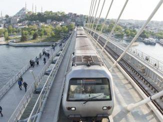 Halic Metro Gecis Koprusu