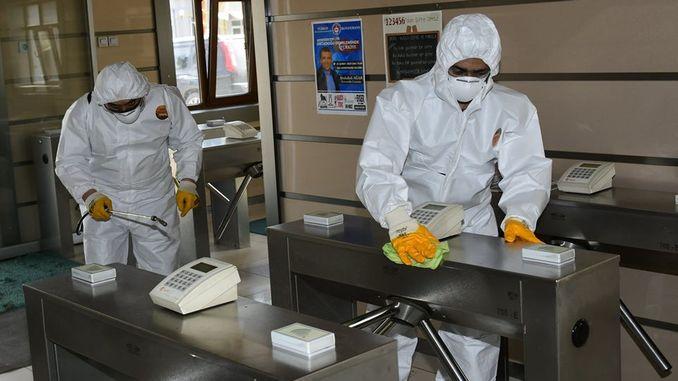 Corona ဗိုင်းရပ်စ်တိုင်းတာမှုများကိုTÜDEMSAŞတွင်ပြုလုပ်သည်