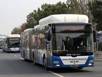 Private ego buses for healthcare professionals working in ankara city hospital