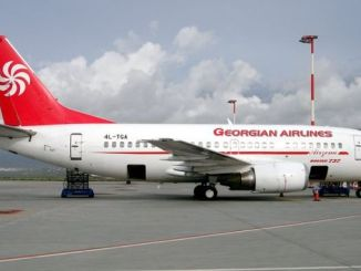 Flight to Azerbaijan and Georgia has been postponed to the April