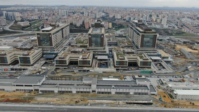 basaksehir city hospital transportation roads were stopped by ibb old government