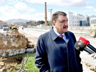 president gurkan examined road works