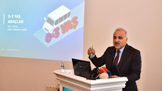 President Zoroglu explained the new system of Trabzon