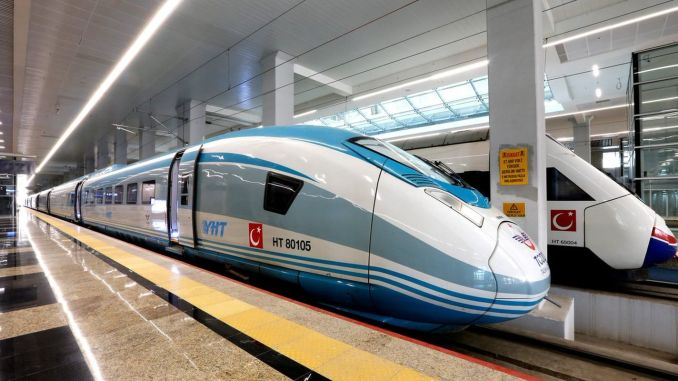 The train services outside baskentray and marmaray have been temporarily suspended