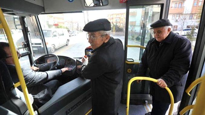 Η δωρεάν μεταφορά πολιτών ηλικίας και άνω στην πρωτεύουσα αναστάληκε