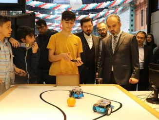 a first at the bursa science festival