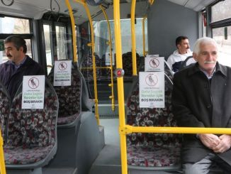 elazig municipality launched an empty seat application in public transport