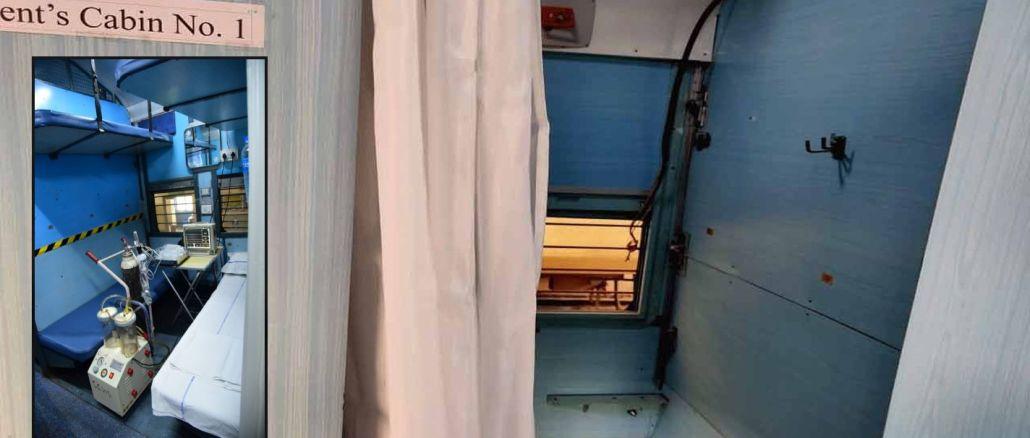 hindistan tren vagonlarini karantina merkezlerine donusturuyor
