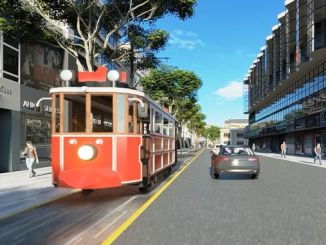 tender announcement nostalgic and urban tram purchase