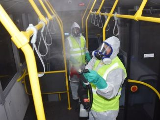 TBB buses are disinfected against epidemics