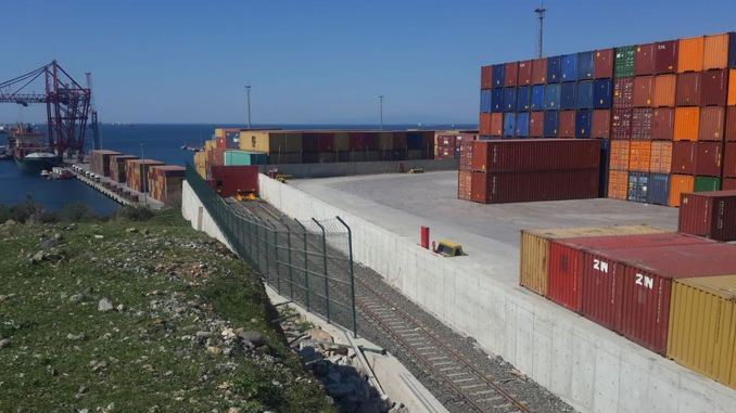 tcdd bicerova nemport port bağlantısı xətti tamamlandı