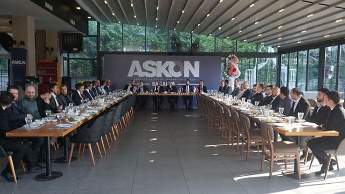 The turasas center is not sakarya, it is laid on the table