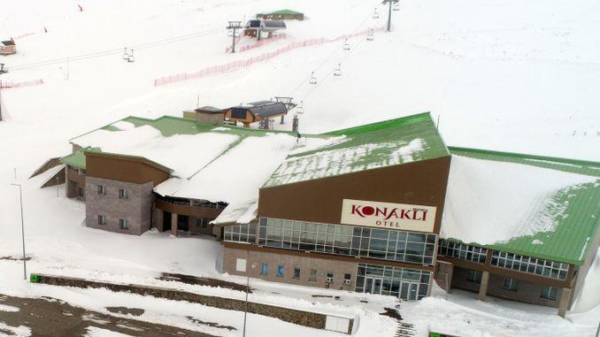 turistler artik konakli kayak merkezinde de konaklayabilecek