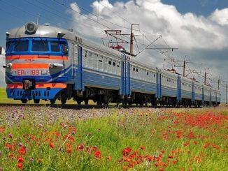 Intercity treinlucht- en buspassagiersdiensten stoppen in Oekraïne