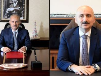 the minister of transportation was taken from the task of mehmet cahit turhan