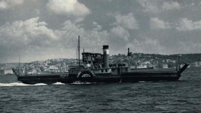 Първият автомобилен ферибот в света