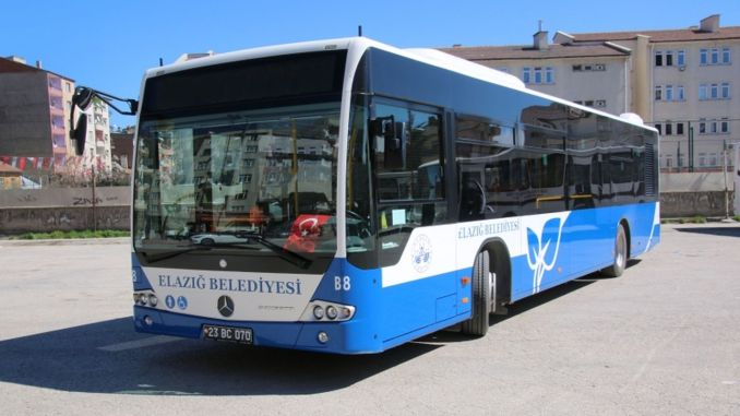 Elazig Municipality reorganized the Bus Timetable
