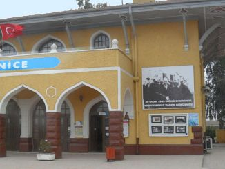Historical importance of the new train station near the island