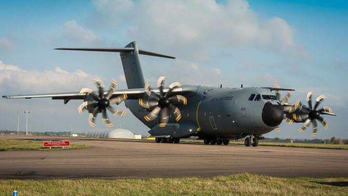 airbustan am atlas strategic transport plane delivery