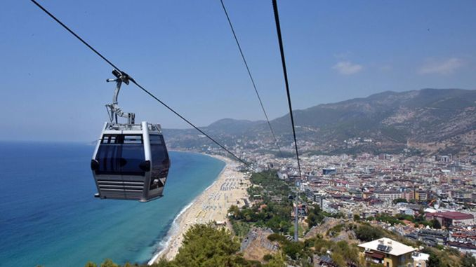 Alanya cable car project is a very old issue