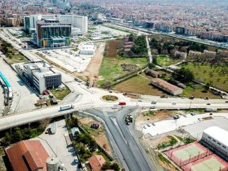 alparslan turkes boulevard is renewed from the beginning