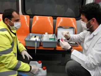 Uninterrupted hygiene in Ankara metro and Ankara wagons