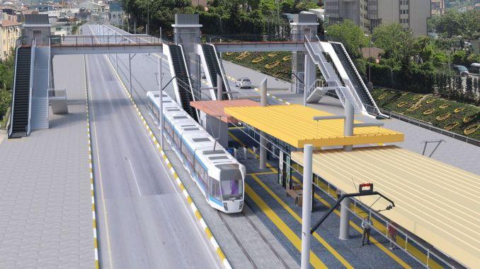 Putevi koji su zatvoreni u sklopu željezničkog sistema stadiona Antalya