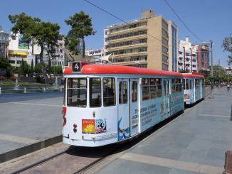 Antalya nostalgia tram services are temporarily suspended
