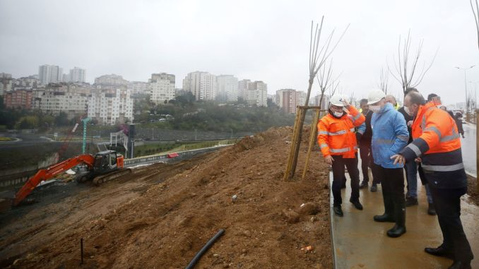 the roads of basaksehir ikitelli city hospital will be completed until may