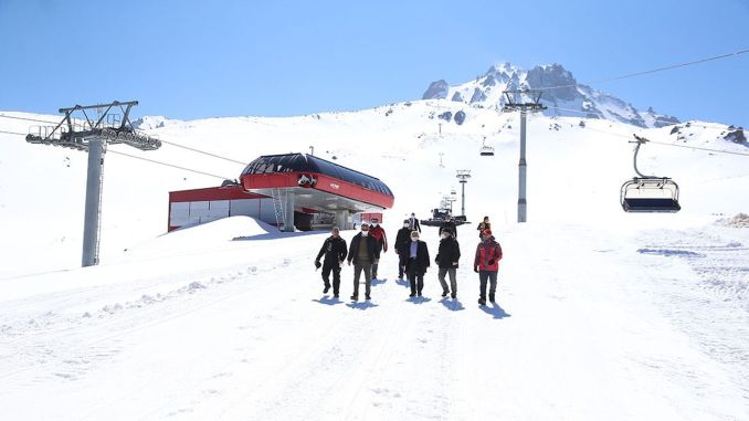 eruktic erciyes upya ski mapumziko