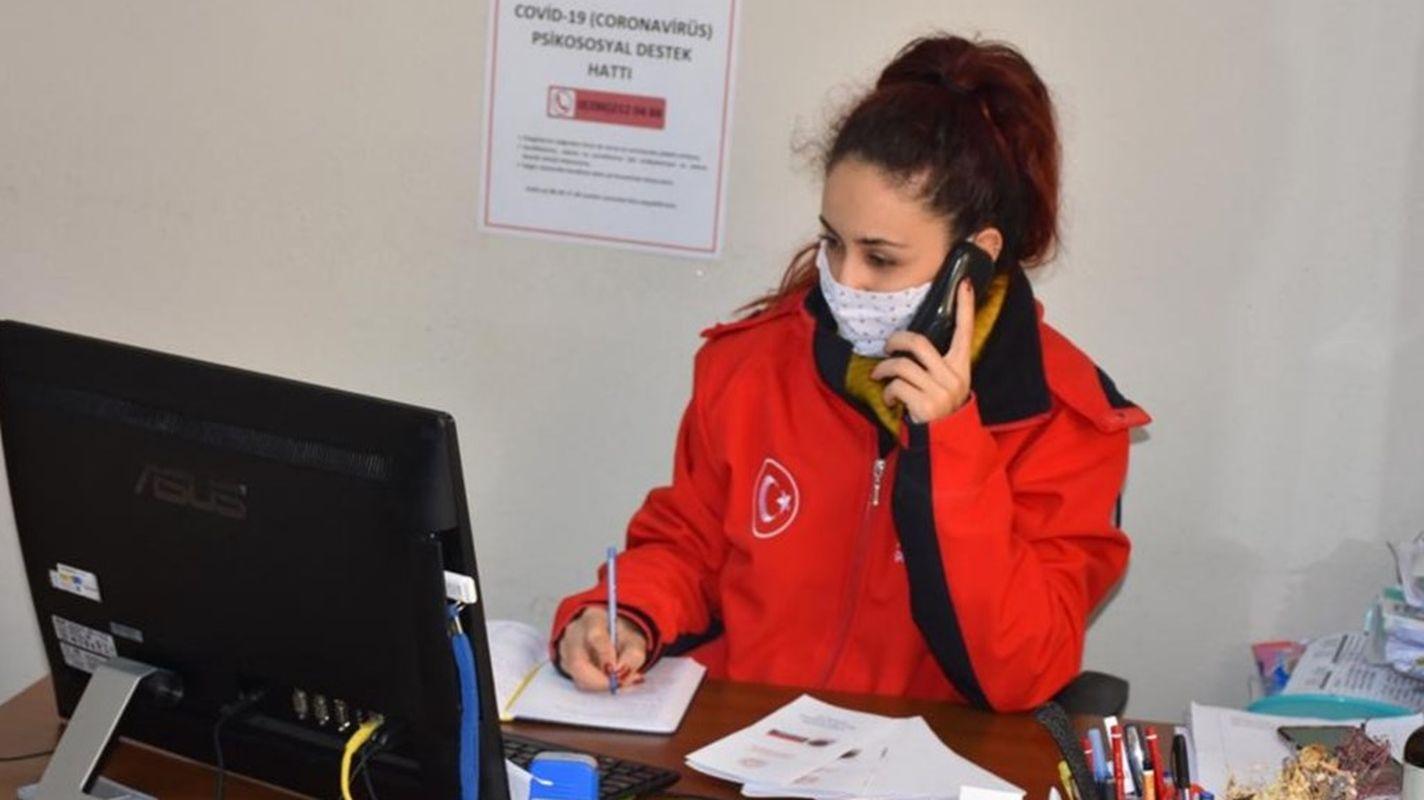 covid nedeniyle vatandaslara telefonla psikososyal destek