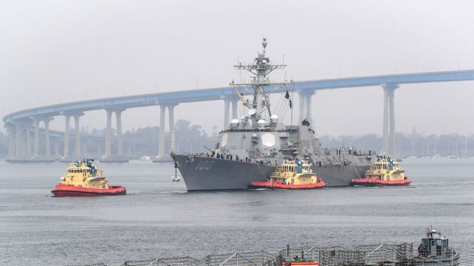 USS Returned to Kidd Port, Confirmed to Have COVID-19 Cases