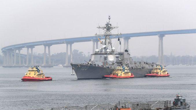 USS חזר לנמל קיד, אישר כי היו מקרים של COVID-19
