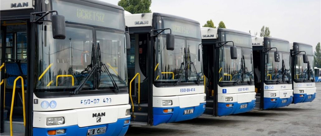 How is the bus purchase process for the ego general directorate?