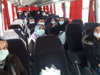 Transportation support was given to a thousand health professionals in gaziantep street exit restrictions