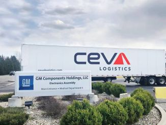 General Motors contracted with ceva logistics to manage the supply chain
