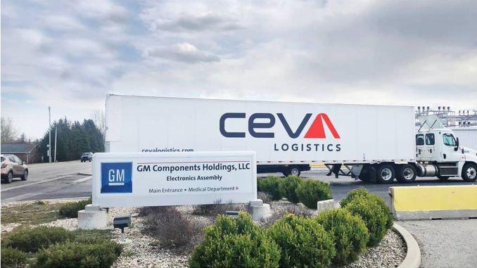 Η General Motors συμφώνησε με την ceva logistics για τη διαχείριση της εφοδιαστικής αλυσίδας