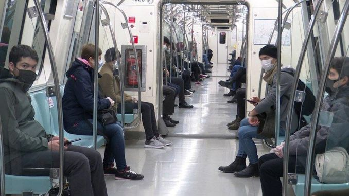 ibb distributed a thousand free masks in public transportation
