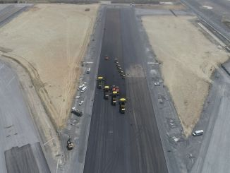 Istanbul airport runway work continues at full speed