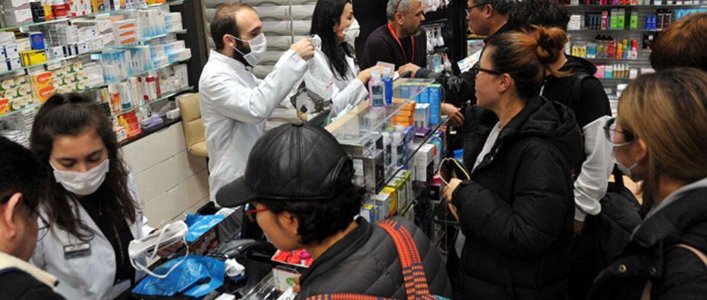 İstanbullular Ücretsiz Maskeleri Eczanelerden Alabilecek