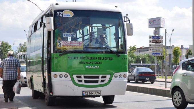 million support for the public transport trades from Kocaeli city