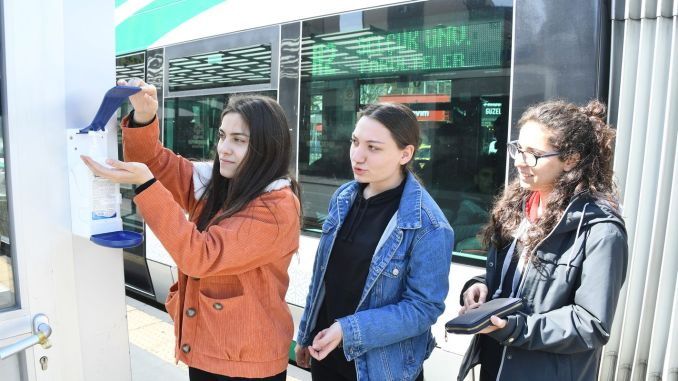 konya became a model in public transportation