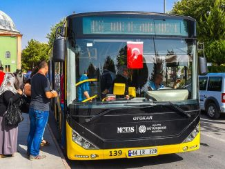 Changes were made to bus routes in Malatya